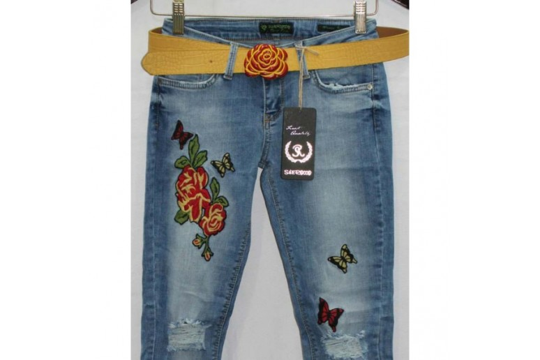 Джинсы женски SHE ROCCO jeans 1238