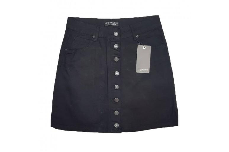 Джинсовая юбка IT'S BASIC jeans 1301