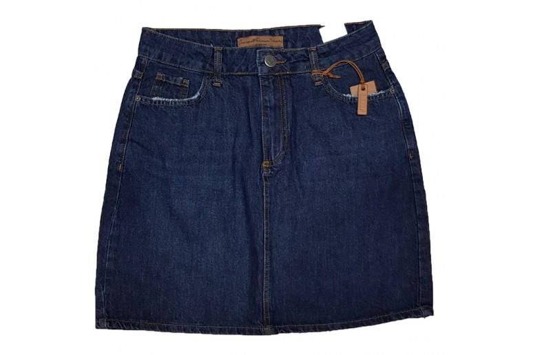 Джинсовая юбка CRACKPOT jeans 5013a