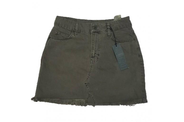 Джинсовая юбка Crackpot jeans 5003a