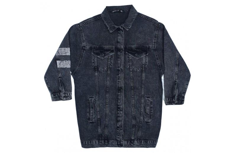 Куртка джинсовая WHAT'S JEANS 203 OVERSIZE