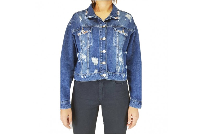 Куртка женская CRACKPOT JEANS 6279 MOM Турция