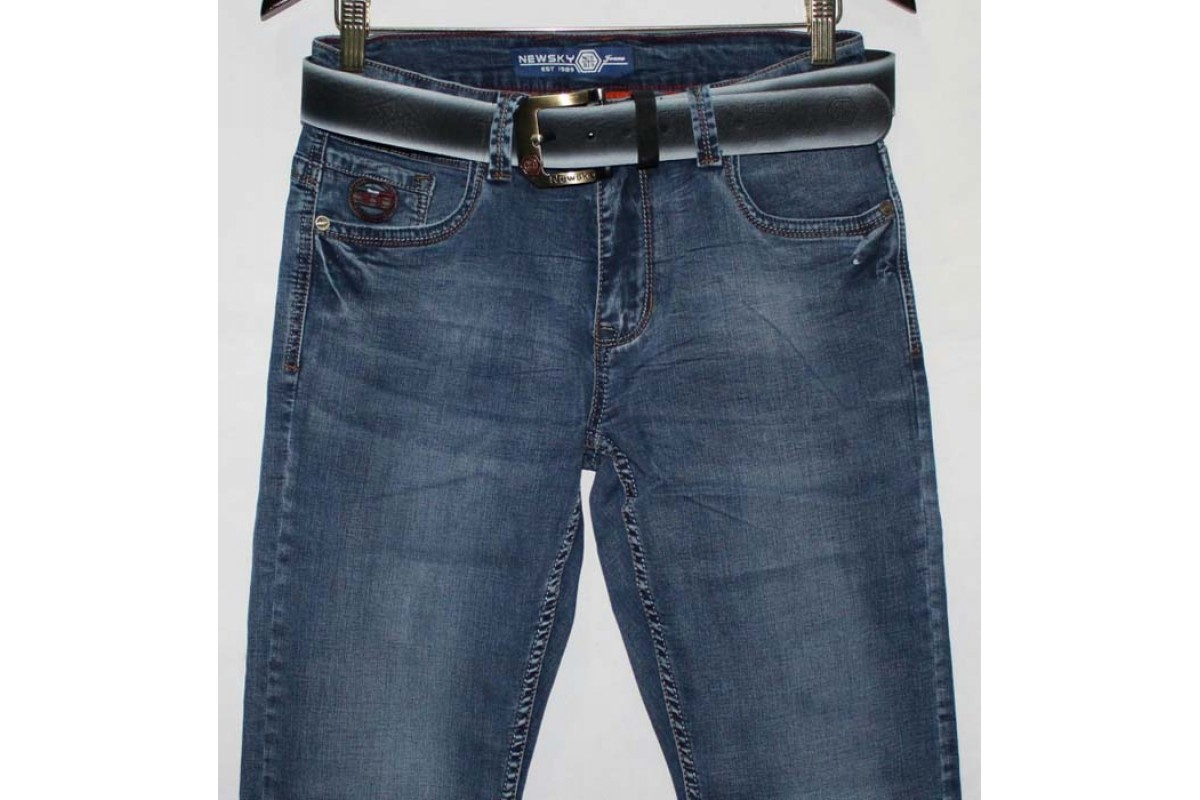 Фото Джинсы мужские New sky jeans 77777 from official site OSKAR™