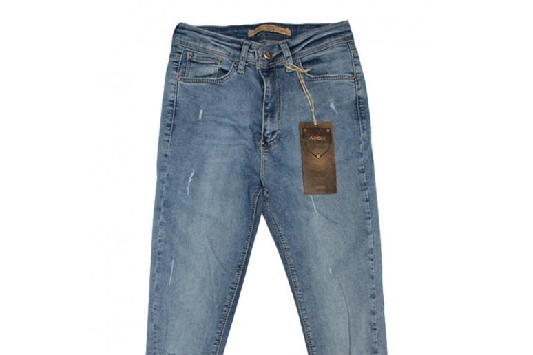 Джинсы женские Arox jeans американка 6677