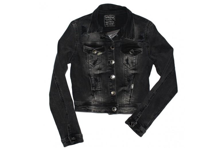 Джинсовая курточка укороченная Liuzin jeans 0901
