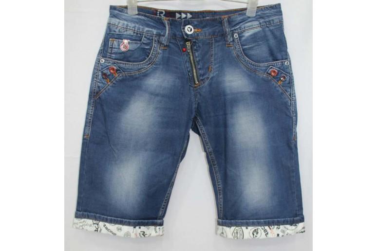 Джинсовые шорты Racing car jeans 2098