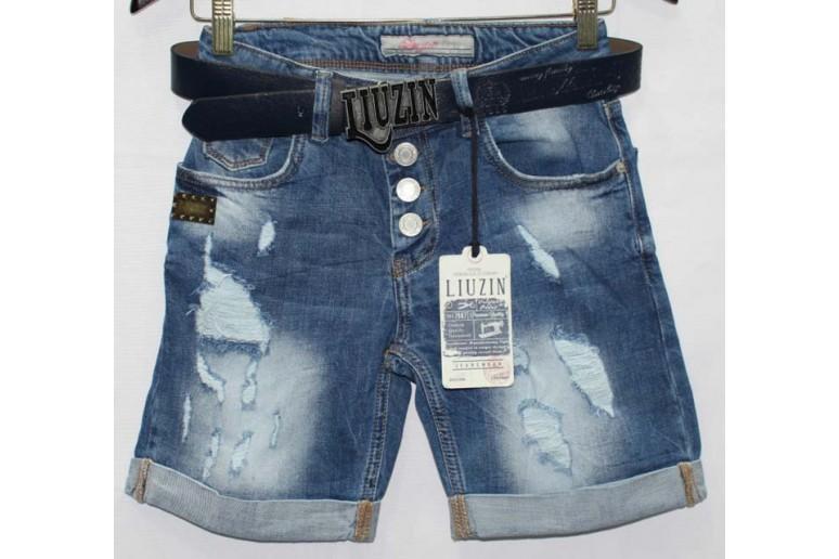 Джинсовые шорты Liuzin jeans boyfriend 0318