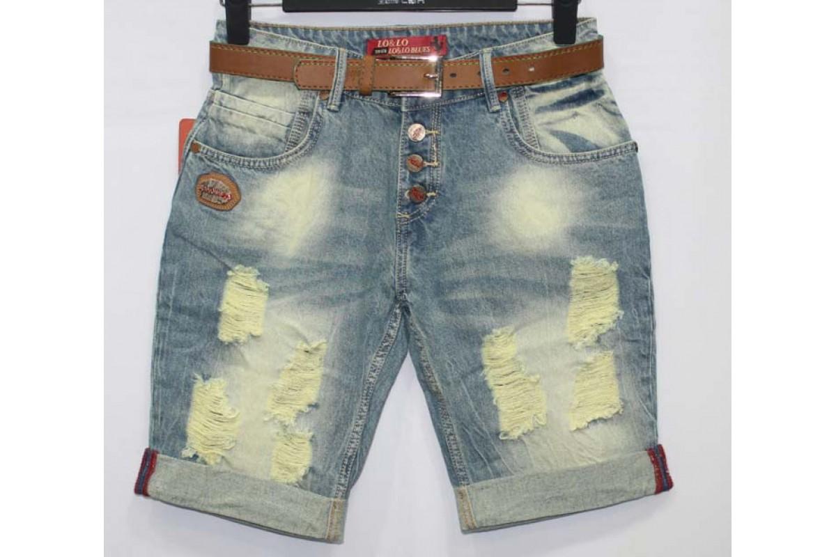 Фото Джинсовые шорты LOLO BLUES jeans boyfriend 113 from official site OSKAR™