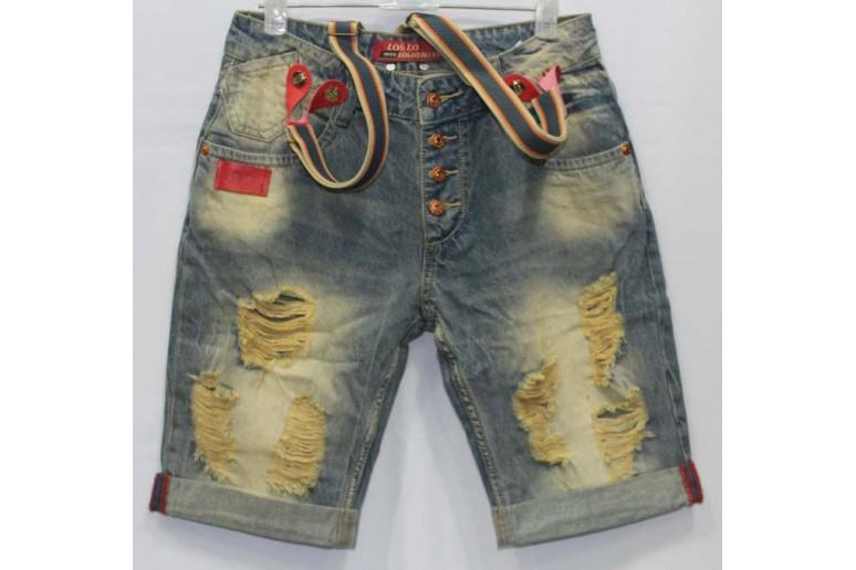 Джинсовые шорты LOLO jeans boyfriend 116