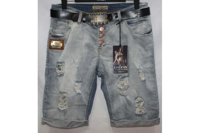 Джинсовые шорты Liuzin jeans boyfriend 5412-1