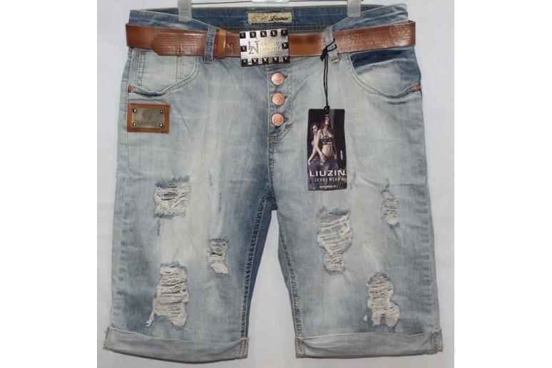Джинсовые шорты Liuzin jeans boyfriend 5412-2