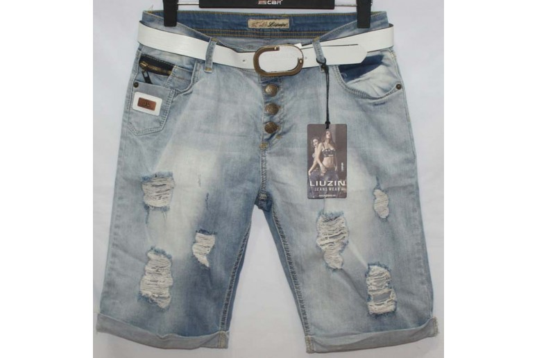 Джинсовые шорты Liuzin jeans boyfriend 5413